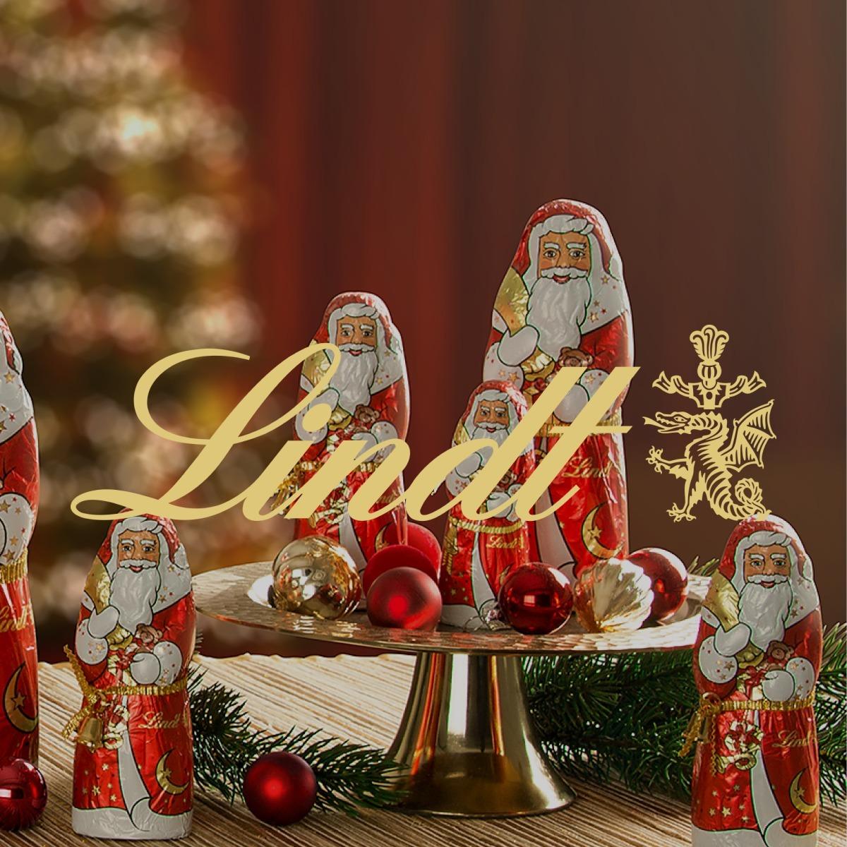Lindt Santa