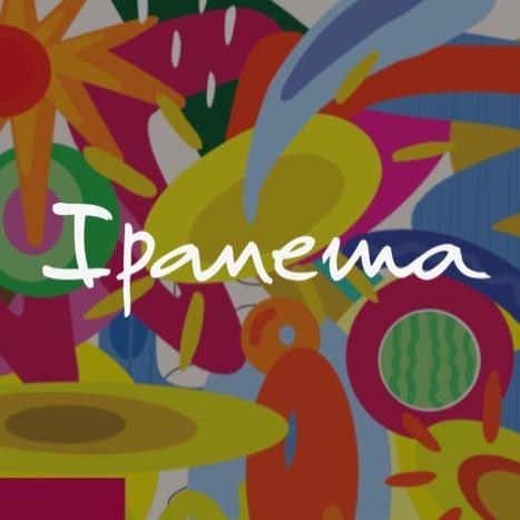 Ipanema - Vibrant static artwork