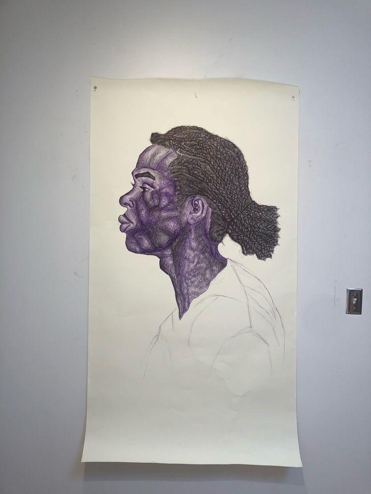 Jermaine Pen - art, ello, bicpen - sharb__ | ello