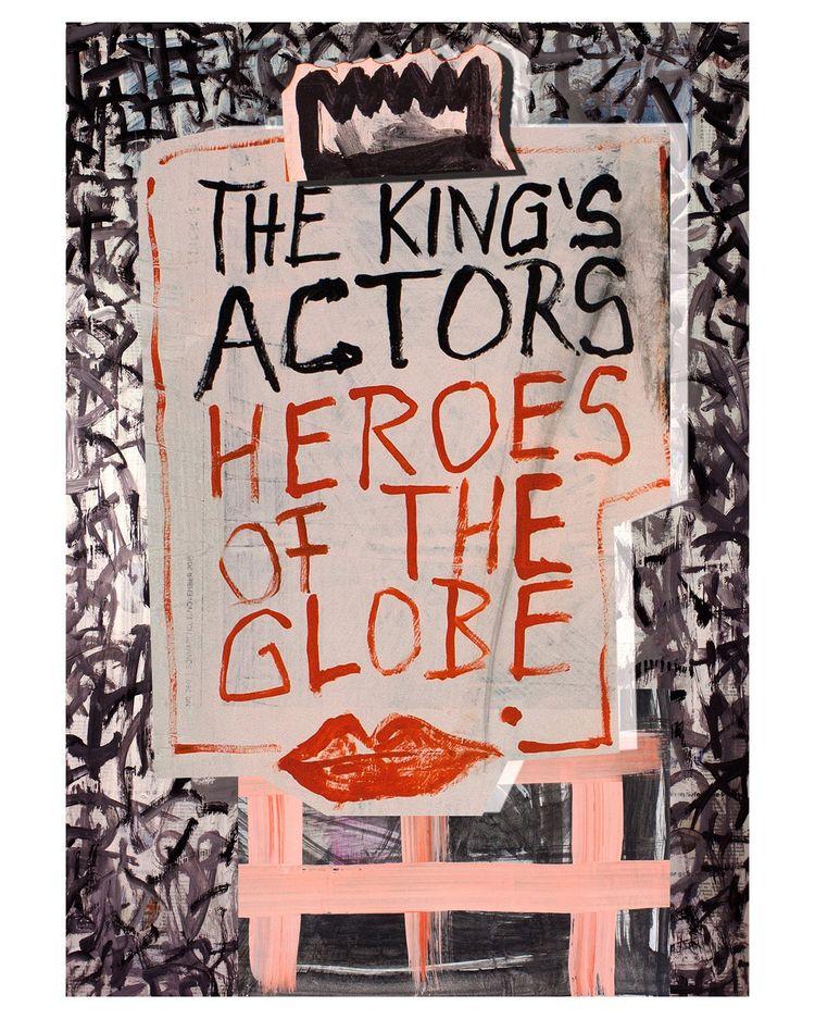 actors, king sketch, poster des - boraistudio | ello
