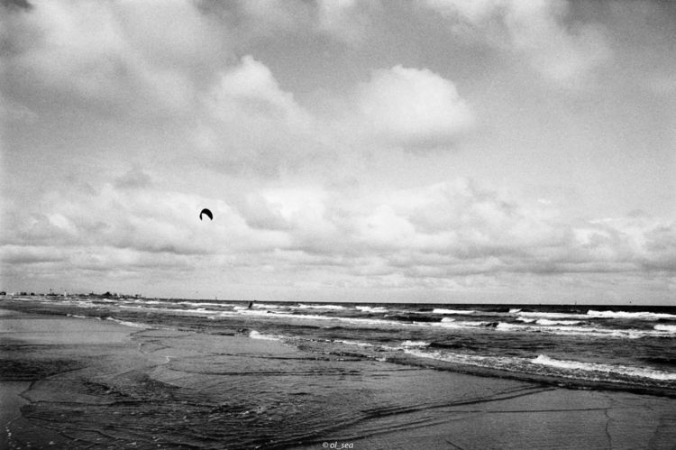 blackwhite, sea, beach, analog - ol_sea | ello