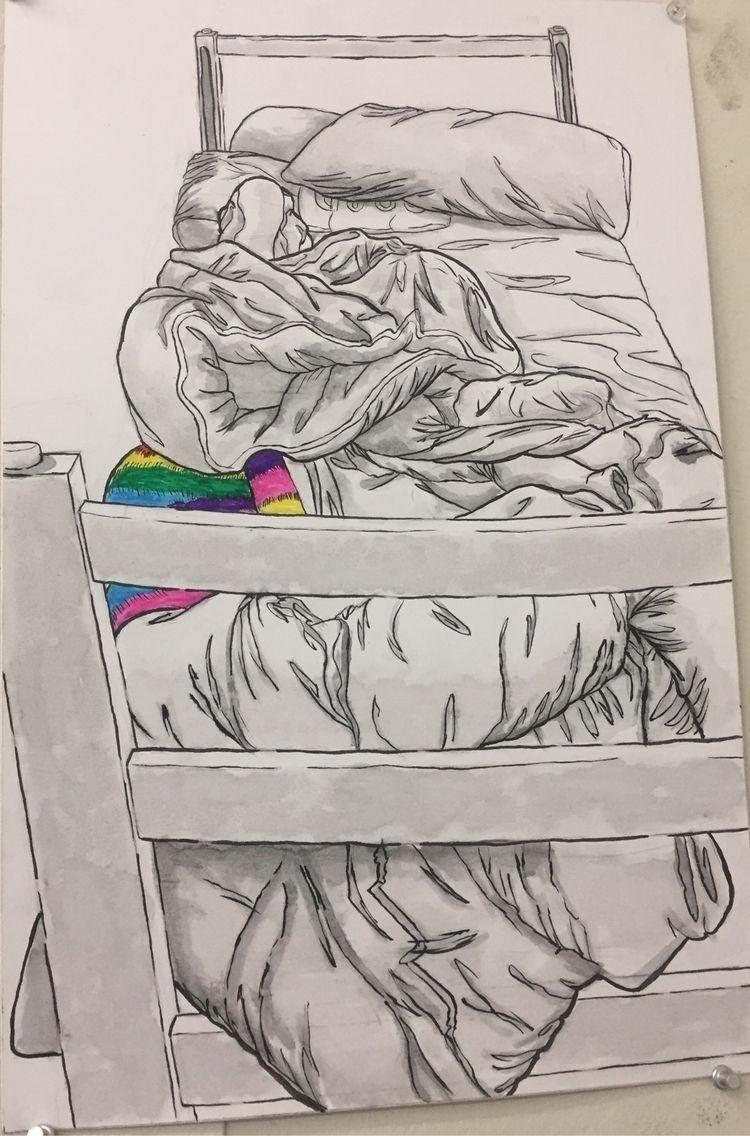 Finally dorm bed alot hibernati - sleepyslothboi | ello