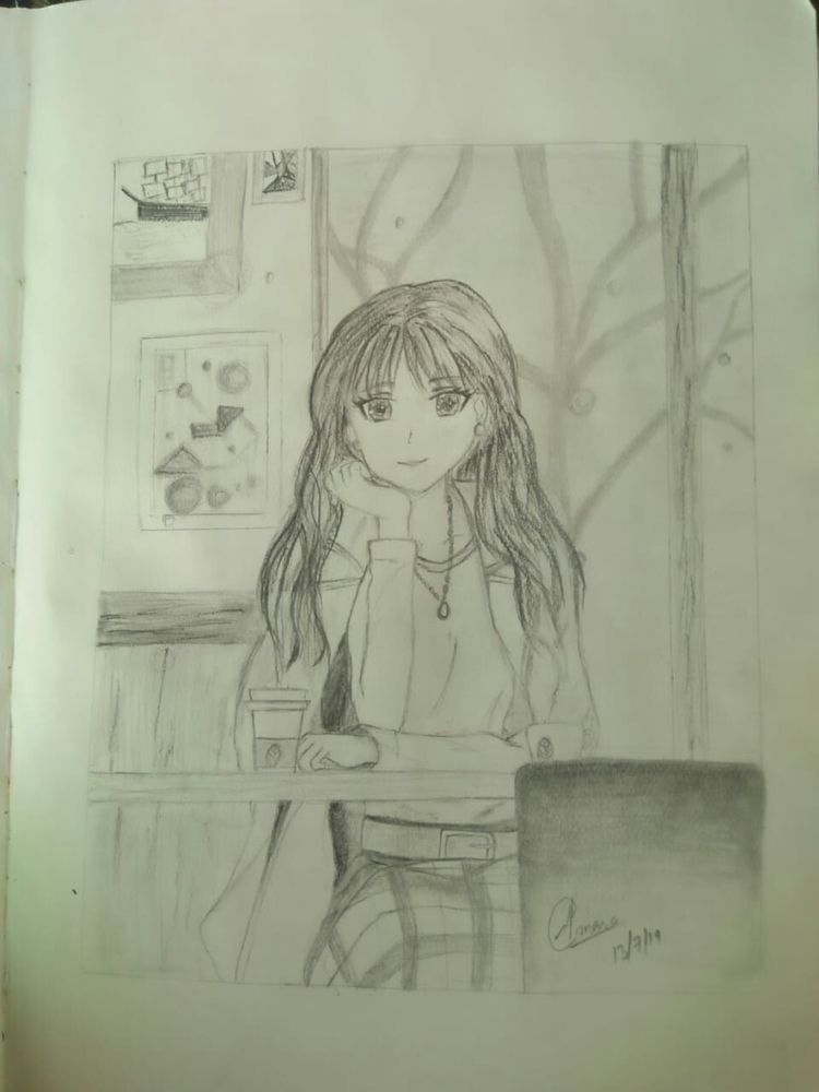 sketching pencils loves anime - safiasultana | ello