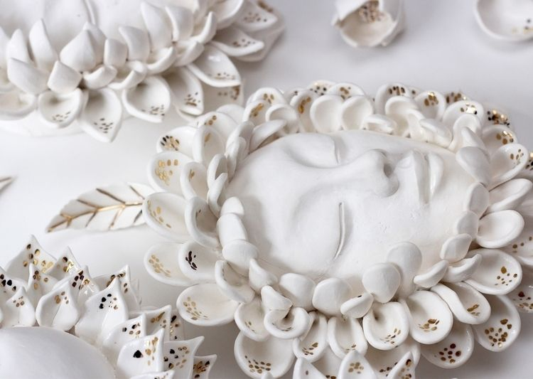 Gaia. Porcelain sculpture. tabl - pritpalbharaj | ello