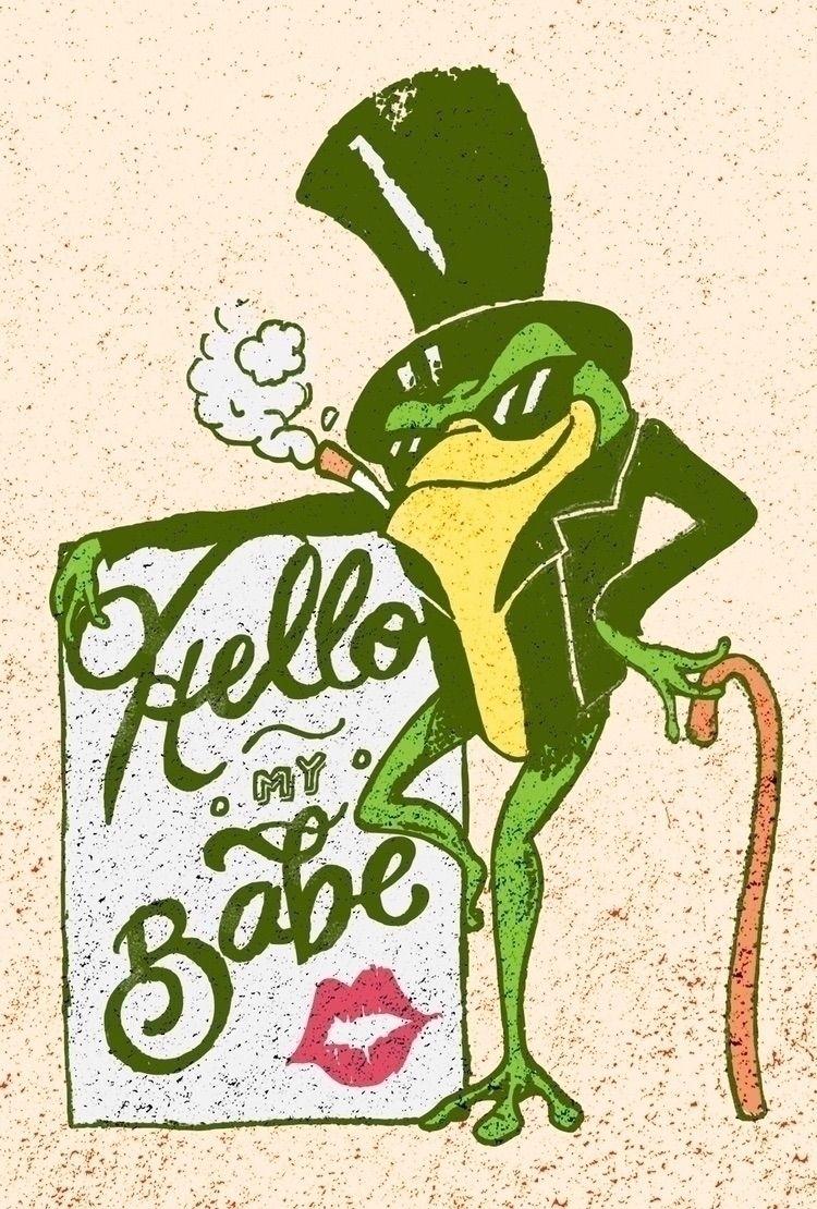 Michigan Frog joined biker gang - rebecca_jane   ello