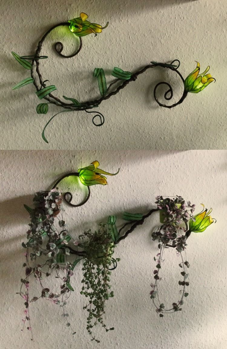 fantasy flower wall planter ver - elfenschein | ello