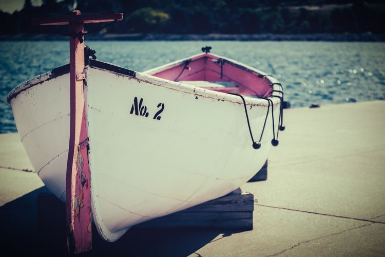 Reason 2 vintage fishing boat d - theexplorographer | ello