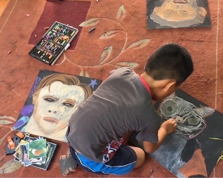 Drawing Chalk Classes children - wikibuda   ello