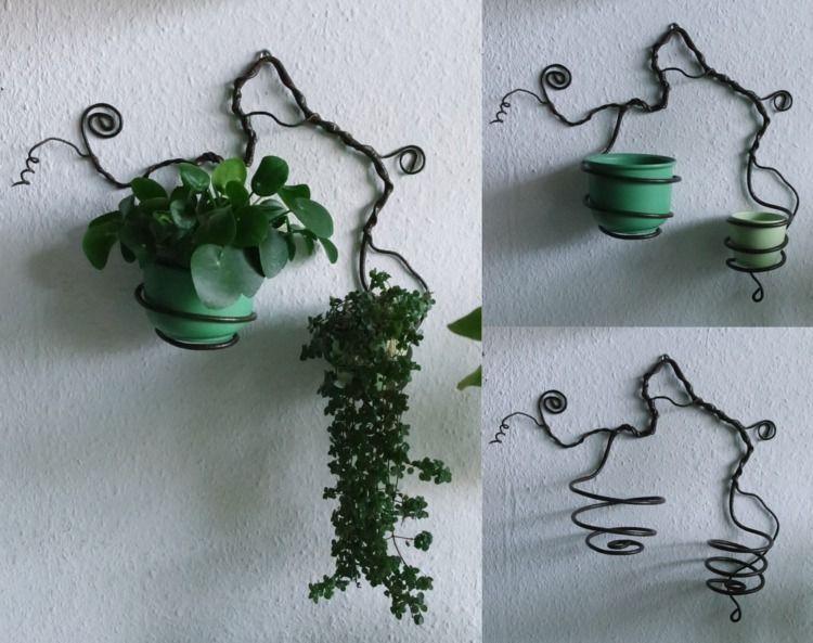 Wall mounted planter tendrils | - elfenschein | ello