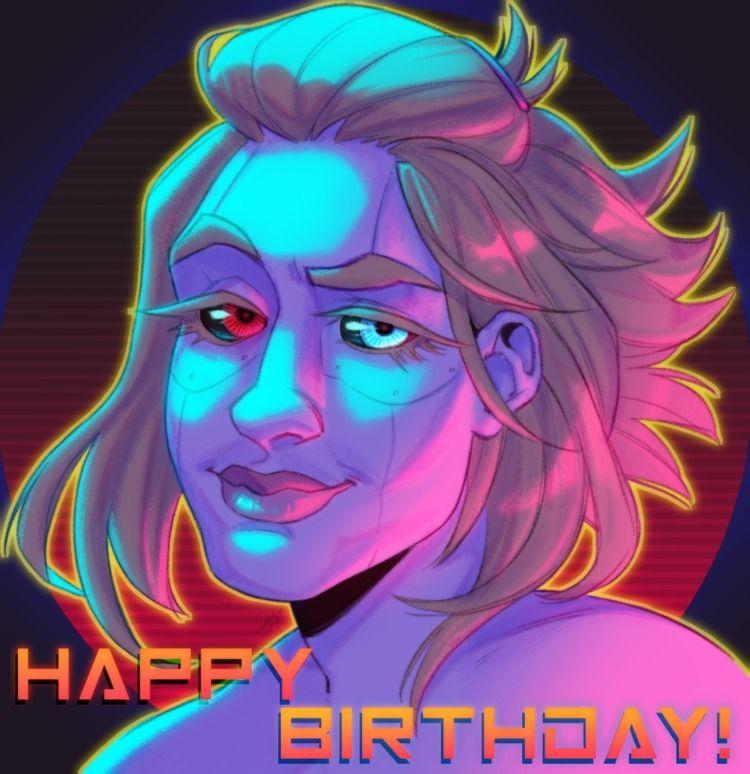 birthday gift Happy birthday, s - cardinal_gray | ello