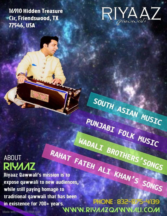 Riyaaz Qawwali goal audiences U - riyaazqawwali | ello