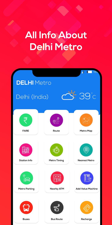 Delhi Metro guide Interactive m - developertool   ello