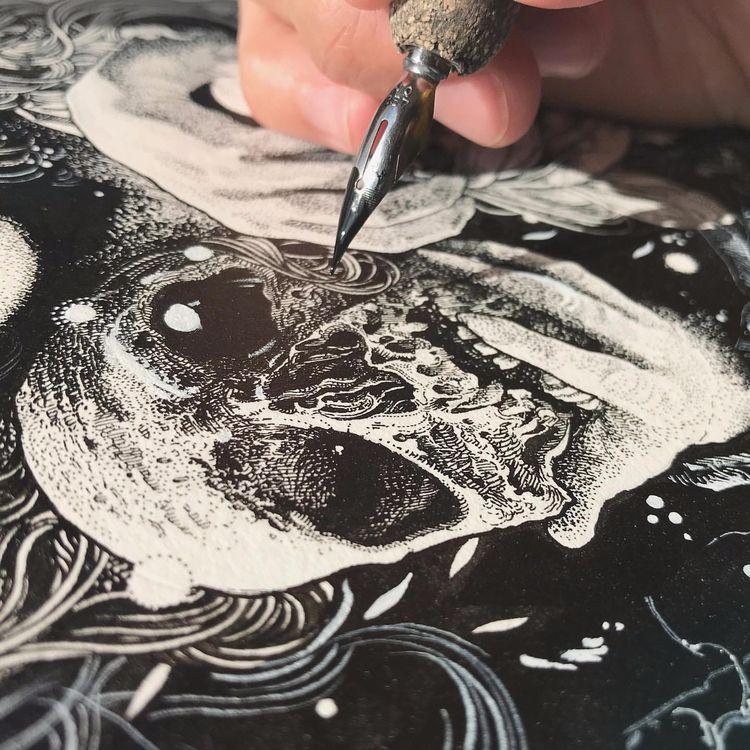 Art Richey Beckett - art, drawing - nudelambingan | ello