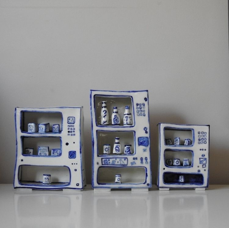 Porcelain 'play' vending machin - bluebearvendingco | ello