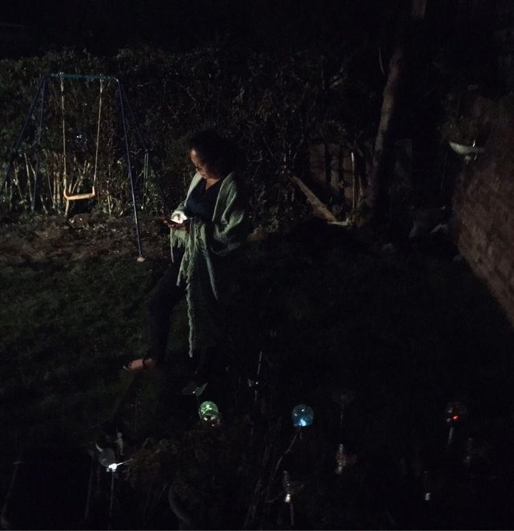 Exploring garden night - clarkie | ello