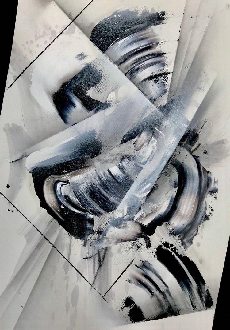 Cloudy 70 50 cm Oil Spray Paint - richardshipley | ello