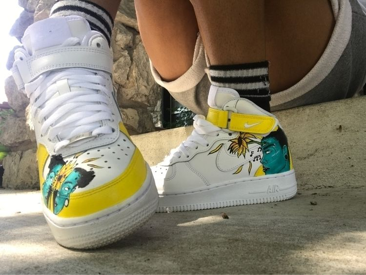 Customized air forces - oreoprincess | ello