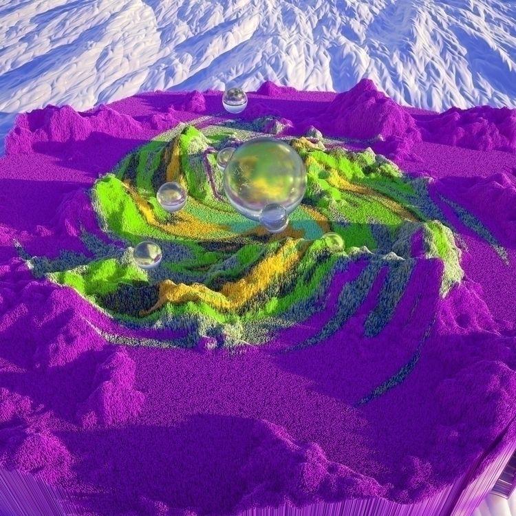 Mountains colors works Facebook - camilociprian | ello