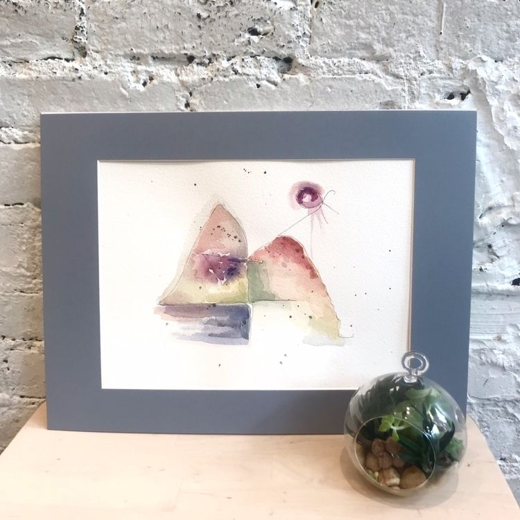 """Feng Shui"" - 9x12 Watercolor - tartart | ello"