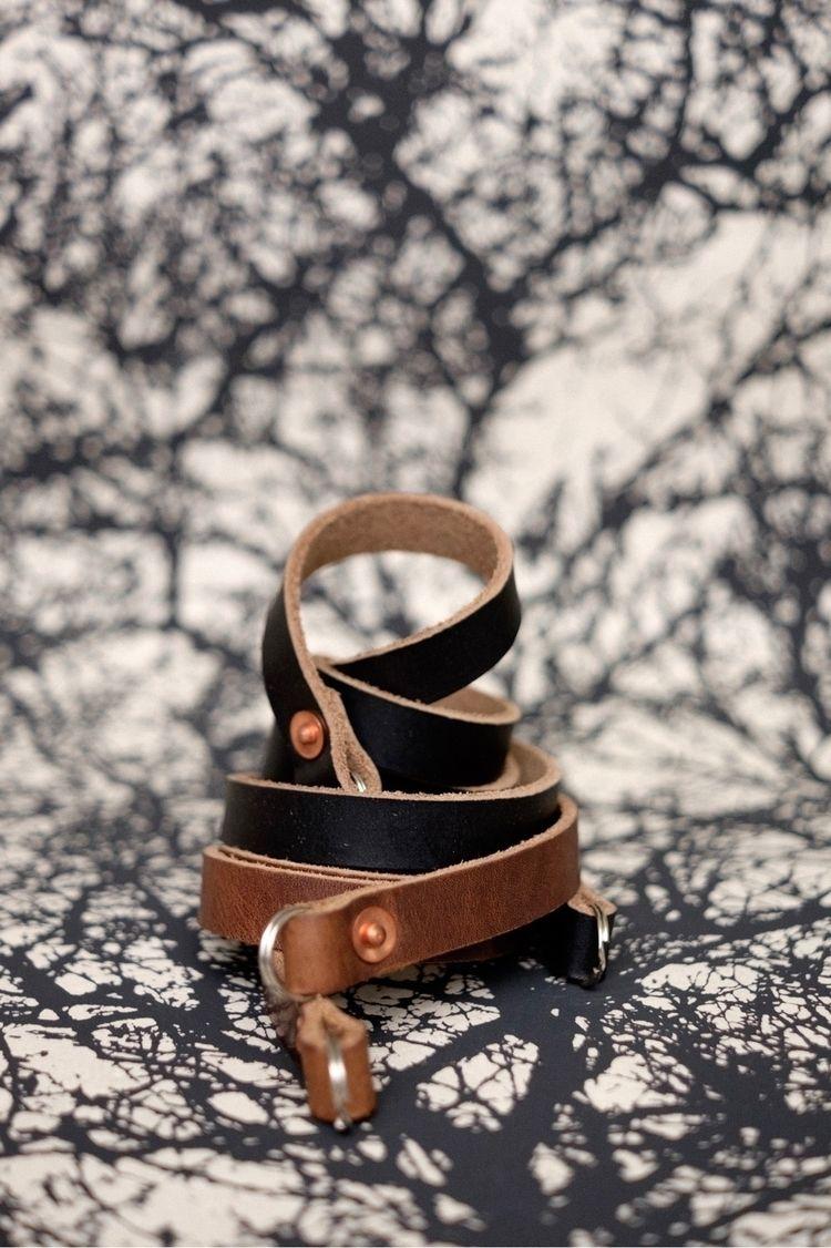 Handcrafted leather camera stra - strapandgo | ello