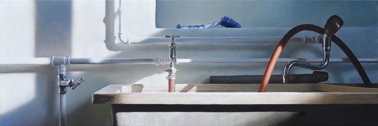 Laundry Room 2014, 40 × 120 cm - christopheberle | ello