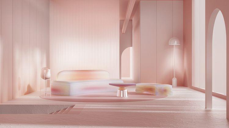 Mars, eco friendly sofa - artdirection#3d - gonzzzalo | ello