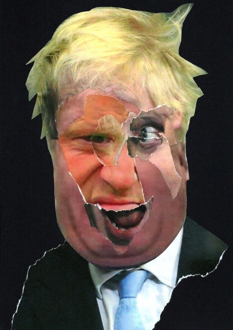 Boris - collage, dada, popart, politics - graemejukes | ello