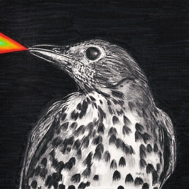 Untitled 61), 2019, pencil colo - heikomuller | ello