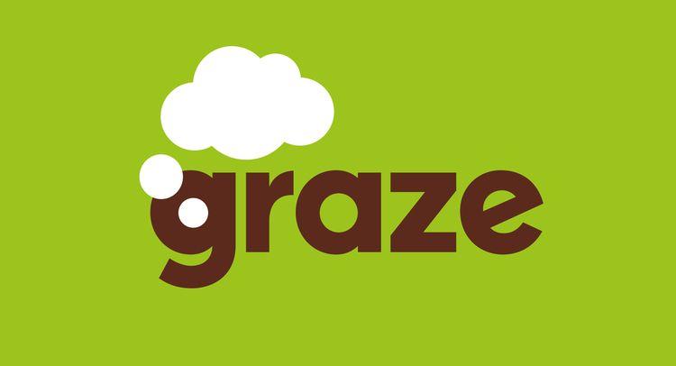 Graze logotype - logo, type, healthy - robclarketype | ello