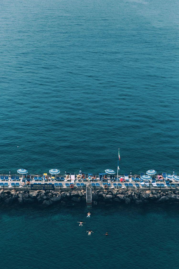 Swimming coast Sorrento, Italy - lauraaustin | ello