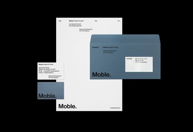 project. Brand Identity Moble.  - iamcollaps | ello