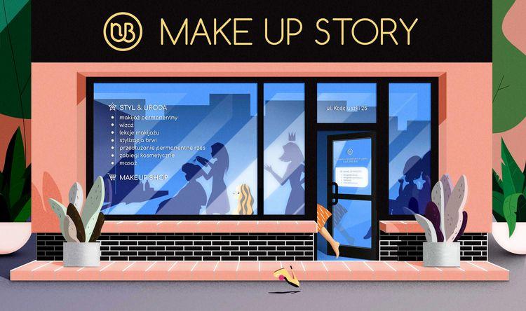 LOGO Illustration Story Beata N - omgpatrycja | ello