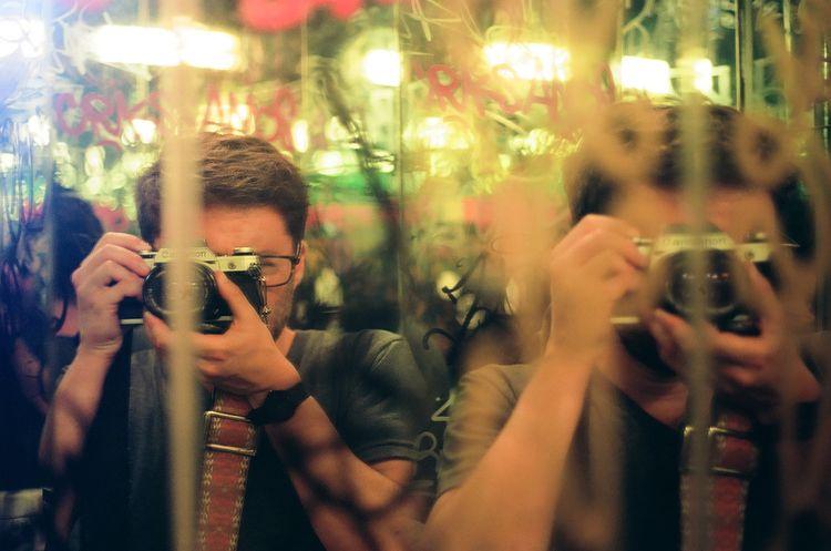 selfportrait, film, filmphotography - androojm | ello