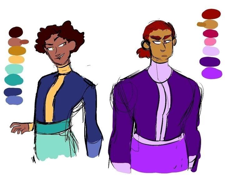 character concept sketches (9/6 - doctorramen   ello