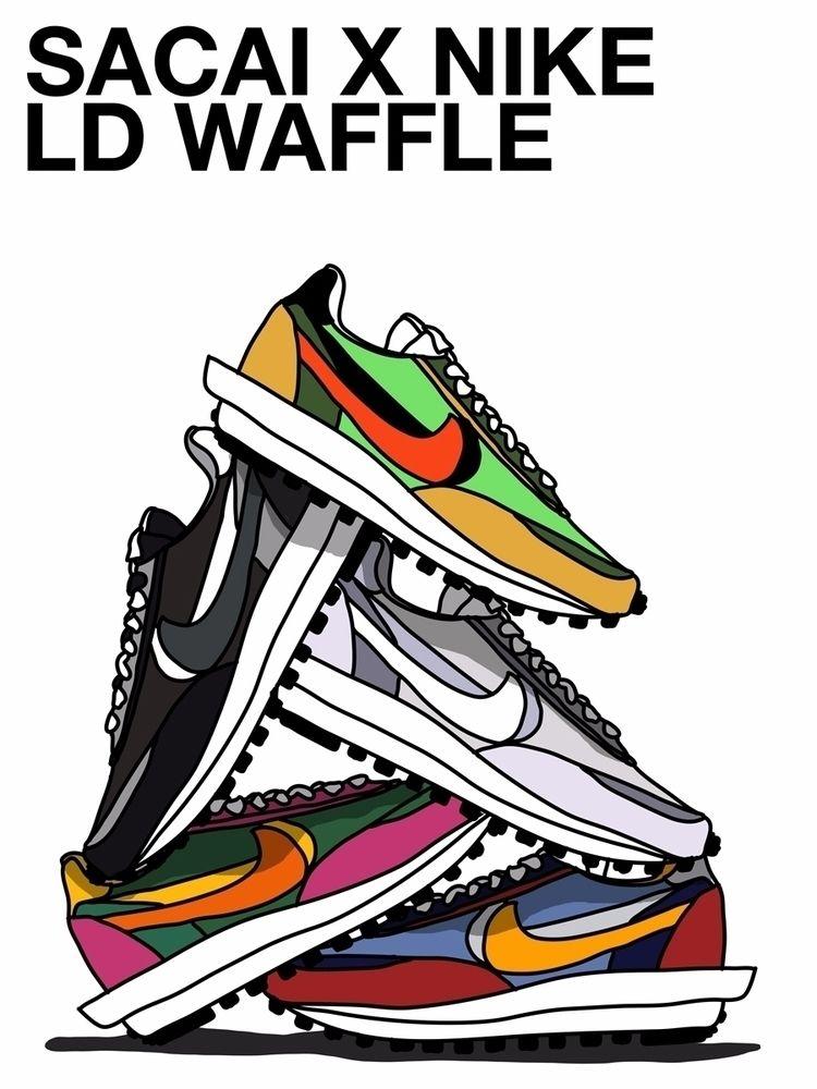 created poster fav sneakers 201 - sammerrigan | ello