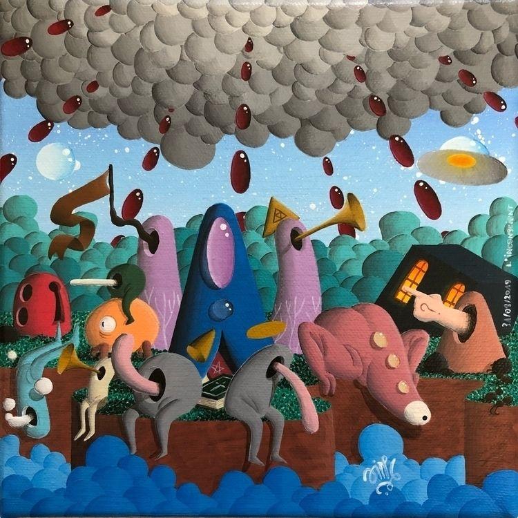 art, paint, painting, acrylic - jimmy-p | ello