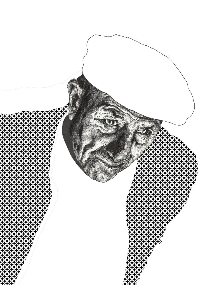 stippling, pointalism, illustration - inklr | ello
