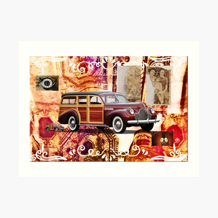 Vintage Year 1940s Collage Work - karensparkles | ello