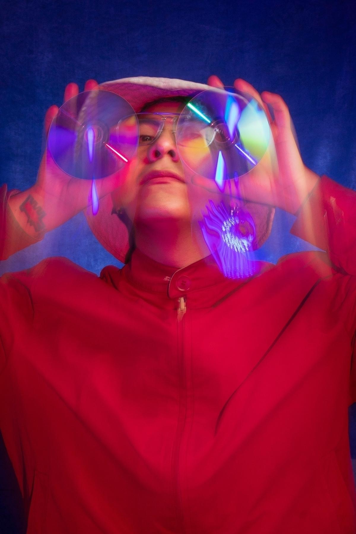 Selfportrait Discman - portrait - mrtronch | ello