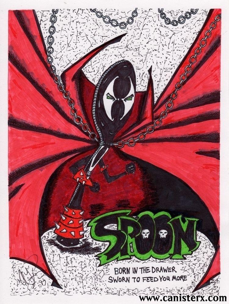 Spoon. Born Drawer, Sworn Feed - apfuchs | ello