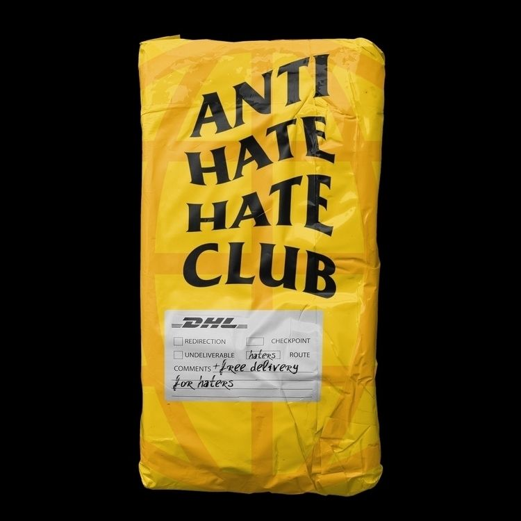 ANTI HATE CLUB STOP HATING LOVE - sebastiien | ello