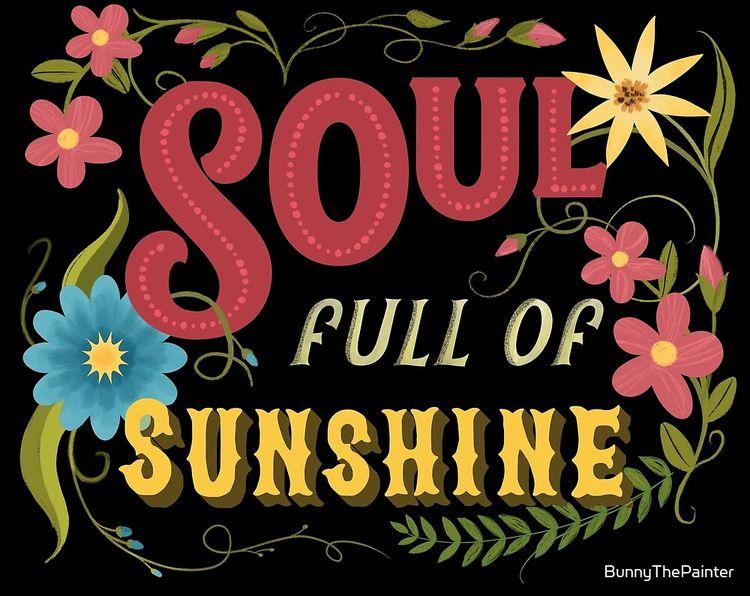 Soul Full Sunshine Vintage Flor - littlebunnysunshine | ello
