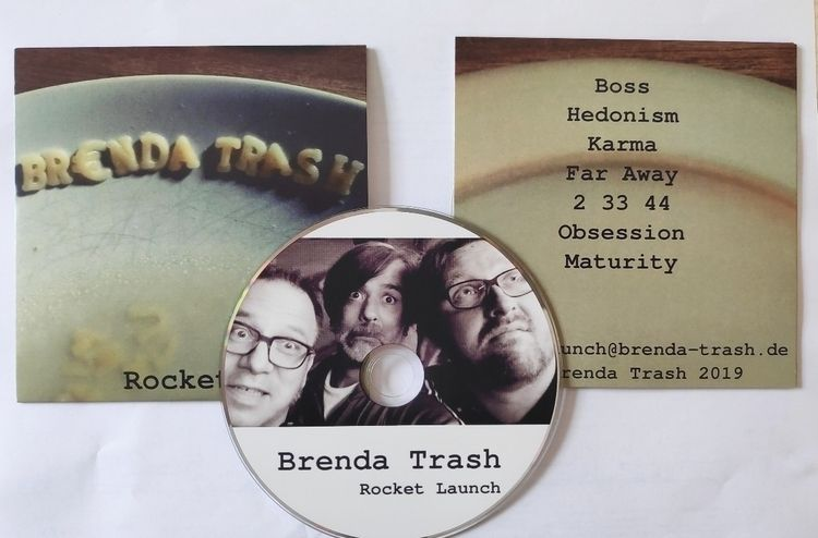 Finally Rocket Launch EP CD Bre - flatulenzphobie   ello