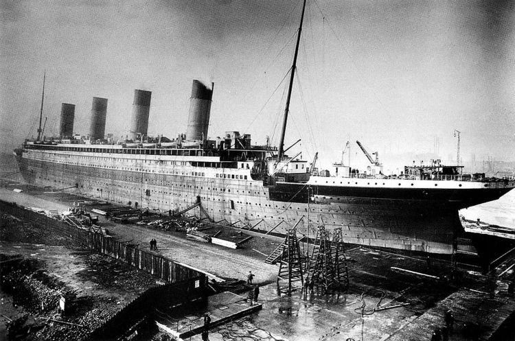 RMS Titanic construction 1909-1 - amrowebas | ello