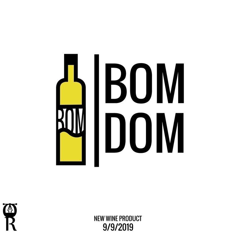 wine product logo desgin - omarraaftdesginer | ello