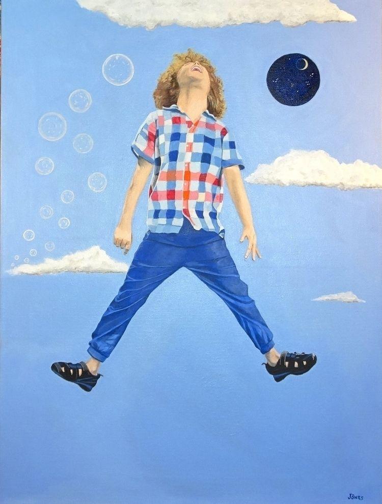 Joie acrylic canvas, 40x60 cm,  - teragram1 | ello
