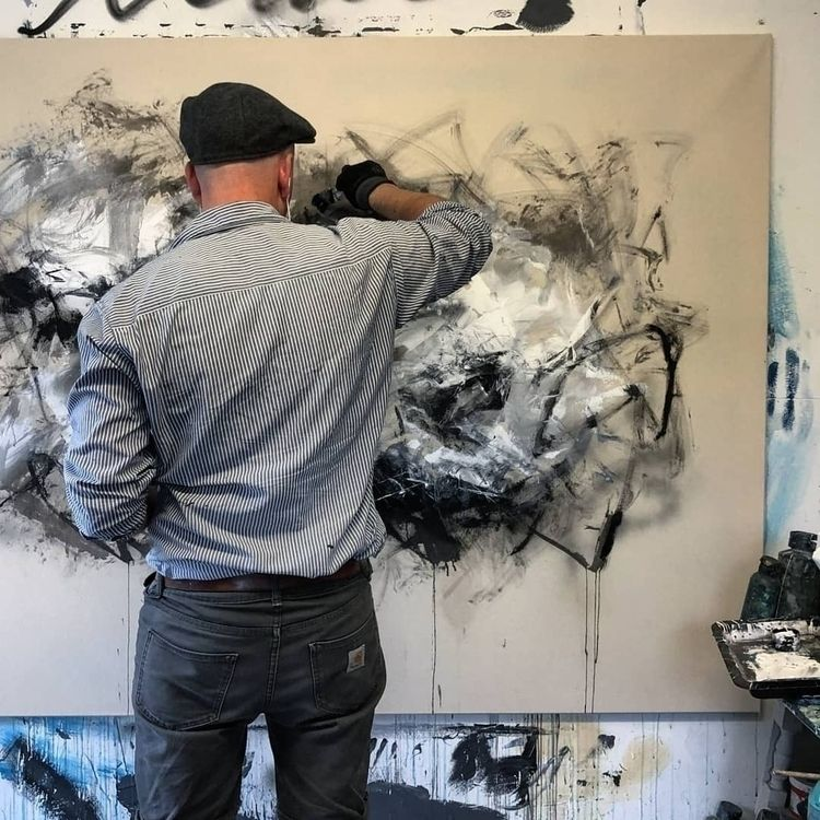 Artist in the Studio: