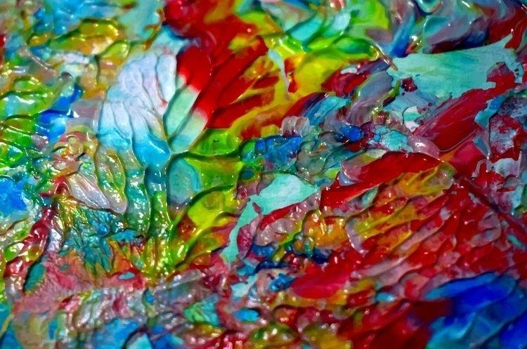 art, óleo, paint, draw, drawing - maleniferrari | ello