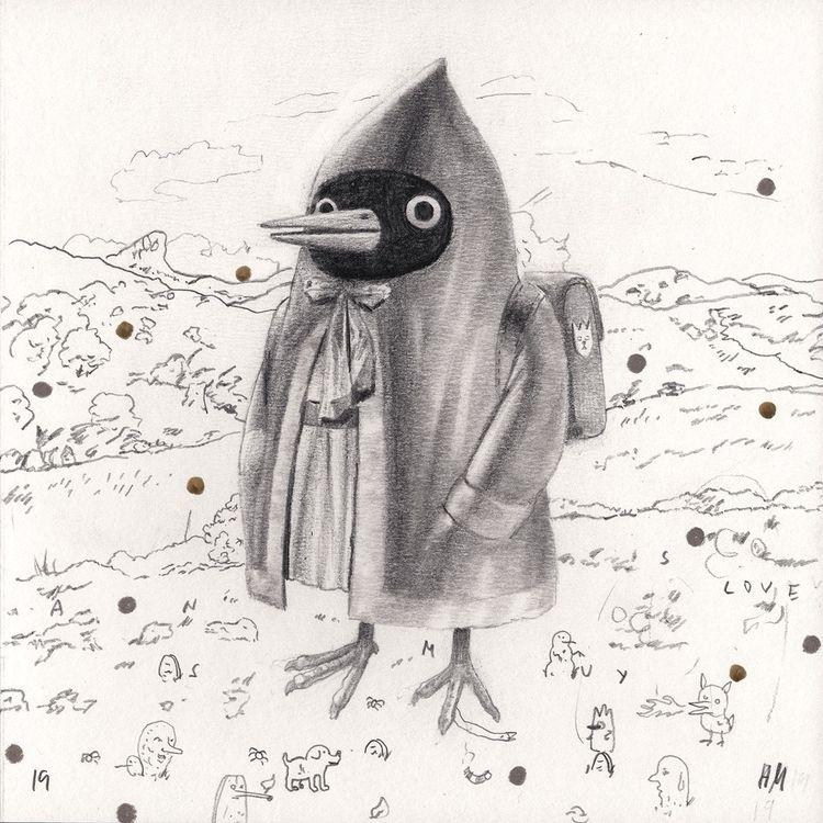 Untitled 57), 2019, pencil colo - heikomuller   ello