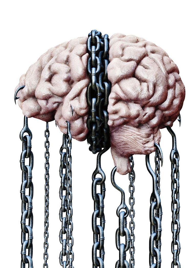 Suppressing thoughts escape min - awarelism | ello